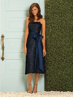 Dessy Bridesmaid Style 2053: The Dessy Group - I like this one the best!!