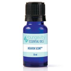 """Heaven Scent™ Essential Oil Blend – 10ml - Heaven Scent™ is a powerful blend made with 100% pure, therapeutic Youngevity Essential Oils. This blend contains:  Amyris, Bergamot, Black Spruce, Cedarwood, Clementine, Geranium, White Grapefruit, Lavender, Neroli, Orange-Sweet, Osmanthus, Rosewood, Scotch Pine, Ylang Ylang.   <a href=""""//ygy1.com/kjf"""">Product Facts</a>"""