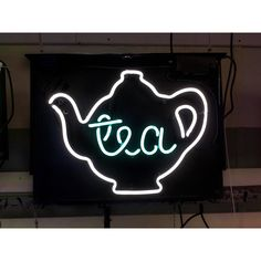 A Tea with Tea Pot Neon Sign from www.jantecneon.com! #tea #teapot #greentea #teatime #neon #neonsign #neonsigns #jantecneon #art #decor #design #designideas #designinspirationen _ www.jantecneon.com