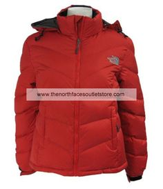 6f8434fd63 The North Face Women Nuptse Goose Down Jacket(Red) North Face Sale