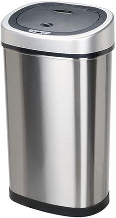 9 best top 10 best stainless steel trash cans in 2017 review images rh pinterest com