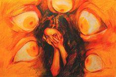 109 Likes, 5 Comments - Art Sketches, Art Drawings, Arte Sketchbook, Art Hoe, Wow Art, Psychedelic Art, Surreal Art, Pretty Art, Aesthetic Art