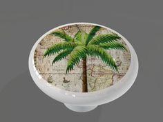 Clic Palm Tree High Gloss Ceramic Drawer Gotham Decor Llc Http