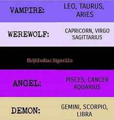 Aquarius and libra should be switched around I am sooo not and angel and my bff is sooo not a demon