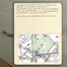 Girders studies (sketch)_Moleskine (Ink and pencil), 2009_Mariasun Salgado