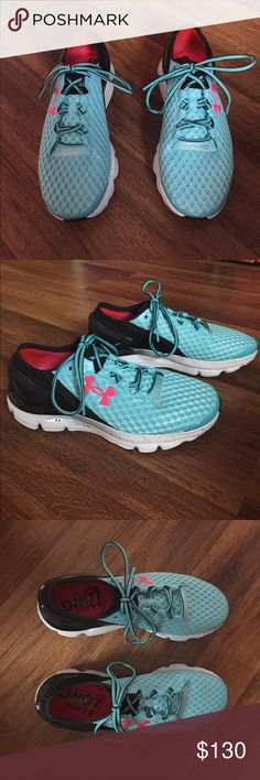 Under Armour Speedform Gemini || Running Shoes ▪️Light blue | Hot Pink | Never worn | No trades ▪️ Under Armour Shoes Athletic Shoes