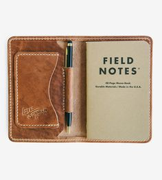 Minimalist Edison Handcrafted Leather Wallet by Loyal Stricklin on Scoutmob