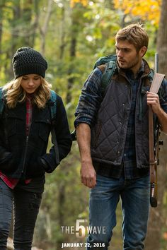 Cassie tries to wrap her head around the mystery of Evan Walker in The 5th Wave. | #5thWaveMovie in theaters Jan 22