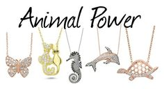 """Animal Power"" by amorium ❤ liked on Polyvore featuring Amorium"
