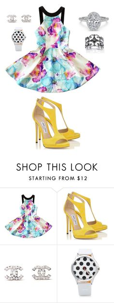 """""""189"""" by agnesmocsai on Polyvore featuring Chanel and Palm Beach Jewelry"""