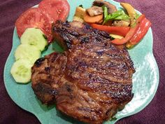 second helpings: Grilled Asian Pork Chops