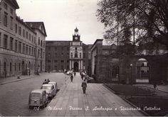 Piazza Sant'Ambrogio. Anni 50 | da Milàn l'era inscì