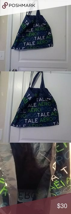 Aeropostal Tote Bag 👜 100% Polyester. Great bag. Excellent Condition. & Is Also Brand New ! Aeropostale Bags Totes