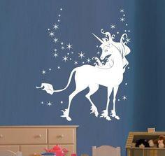Wall Sticker Unicorn by artstickercouk on Etsy