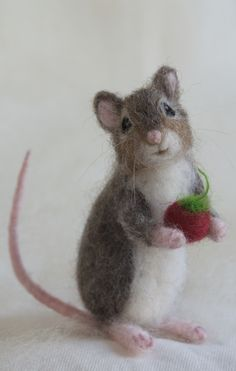Cute mouse by Claudia Marie Felt