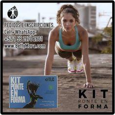 El #KitPonteEnForma de #TLC contiene el suministro de un mes de #IasoTea, un #NutraBurst y un #NRG Hacemos envíos internacionales.  #B1000F