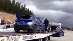 Fast & Furious 7 Subaru WRX STi filming in Colorado -October 2013