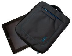STM Bags Jacket for iPad with 3 external pockets Ipad Accessories, New Ipad, Ergonomic Mouse, Color Negra, Apple Ipad, Protective Cases, Sliders, Ipad Case, Shoulder Strap