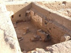 Archaeologists have discovered a 1,700-year-old school, with Greek writings on its walls, at the ancient town of Trimithis at the Dakhla Oas...