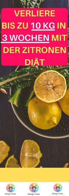 Zitronenwasser, um Bauchgewicht zu verlieren
