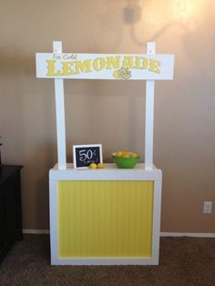 {Craftify It}: Collapsible LEMONADE Stand