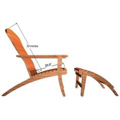 With a life expectancy of 75 years, Westminster Teak offers Teak Adirondack Chairs for discounted & wholesale prices. Wine Barrel Furniture, Outdoor Furniture Plans, Teak Adirondack Chairs, Outdoor Chairs, Deck Chairs, Repurposed Furniture, Rustic Furniture, Modern Furniture, Woodworking Kit For Kids