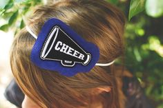 School Spirit Cheer Headband via Etsy OMG my daughter is a Cheerleader and would love this!!