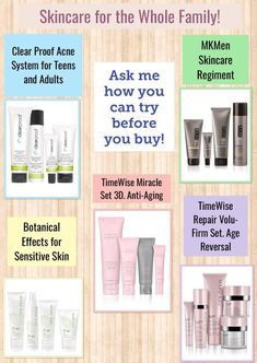 Mary Kay Has the best for Everyone :) www.marykay.com/bstern1 for more info call/text 516-220-8865