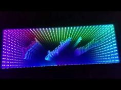 Infinity Mirror Coffee Table - YouTube