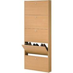 Tvilum Springfield Shoe Cabinet, Beech. Shoe CabinetWalmart