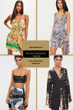 Scarf prints are in, and it looks amazing! 😍❤️ So check out our favourites from the Scarf Prints - SS18 collection here - http://www.stylebankbyb.com/fashion/trend-alert-scarf-prints-ss18