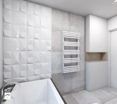 Dom jednorodzinny 7 - Średnia łazienka, styl nowoczesny - zdjęcie od BAGUA Pracownia Architektury Wnętrz