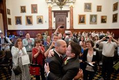 ARTICLE:  Wedding weekend: Same-sex couples celebrate marriage equality in Pa.