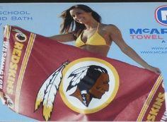 Washington Redskins Beach Towel. Buy It From. www.bjsportstore.com