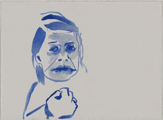 RISD Museum: Sue McNally, American, b. 1967. Lips, Self Portrait as…, 2010. Ink on paper 28.3 x 38 cm (11 1/8 x 14 15/16 inches). Museum purchase in honor of Judith Tannenbaum, Gift of Dr. Joseph A. Chazan 2013.9.8