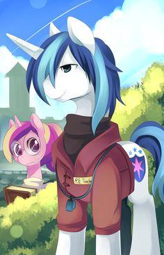 High School Pony by *Ende26 on deviantART