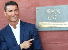 Cristiano Ronaldo during the opening of the new 'Pestana CR7 Funchal' Hotel owned by Cristiano Ronaldo on July 22 2016 in Funchal Madeira Portugal