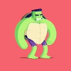 Heroes in a Half Shell: Hulk