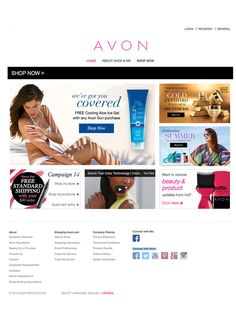 I'm so excited to share this from Avon! Shop the latest products online anytime, at my eStore! Please don't hesitate to contact me with any questions. I am proud to be an Avon Representative! Shop my Avon eStore at http://mbertsch.avonrepresentative.com #AvonStore