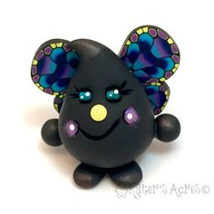 Butterfly Parker - Polymer Clay Character Figurine by KatersAcres on Etsy