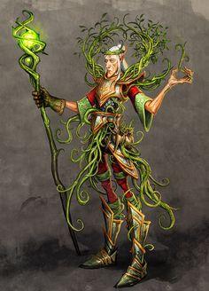 elf gardener by *michalivan on deviantART (V)