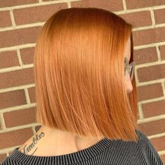 Layered hair is great but there is something about a blunt cut that just works. Having your hair all the same length can really make it easier to styl... Bob Cuts, Blunt Cuts, Blunt Hair, Layered Hair, Your Hair, Short Hair Styles, Hair Color, Beauty, Bob Styles