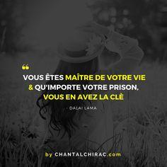 Aujourd'hui, Arrêtons de nous Poser des Questions, Libérons-nous de nos Chaînes & Commençons à VIVRE. #bonheur #liberté #trouversavoie #citation #chantalchirac #developpementpersonnel