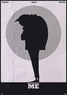Despicable Me - Minimalist Poster