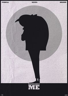 Despicable Me (2010) ~ Minimal Movie Poster by Mads Svanegaard