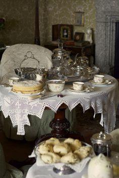 Shawky-fotografie: Tè di pomeriggio?  Lanhydrock House - Cornovaglia