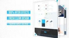 Clean Website Presentation 2 in 1 - After Effects Project Files | VideoHive