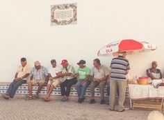 Ericeira Travel Portugal Old people