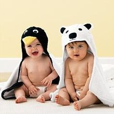 i like these baby towels (: