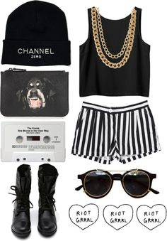 """""""2 CHAINZ"""" by morafersure ❤ liked on Polyvore"""